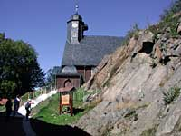 Kirche Sankt Salvator in Trautenstein